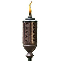 TIKI Brand 65-Inch Cabos Metal Torch, Copper - $16.75