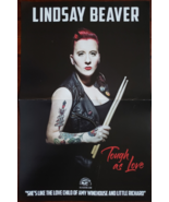 """Lindsay Beaver """"Tough As Love"""" 11 x 17 Double-Sided Promo Poster - $6.95"""