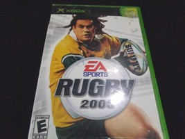 Rugby 2005 Microsoft Xbox Video Game EA - $8.90