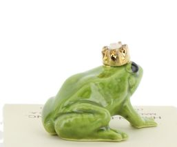 Birthstone Frog Prince October Simulated Opal Miniatures by Hagen-Renaker image 4
