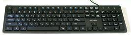 iRiver Korean English Keyboard USB Wired Membrane Cover Skin Protector (Black) image 5
