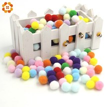 DIYHouse® 50PCS/Lot 15MM Multi Option Pompoms Soft Pom Poms Balls Handma... - $3.66