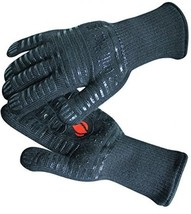 Heat Resistant Grill Gloves Premium Insulated Mitts Backyard Cooking BBQ - $37.95
