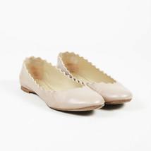 Chloe Leather Scalloped Ballet Flats SZ 39.5 - $135.00