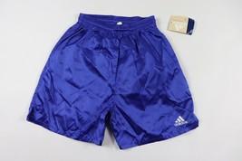 Vintage 90s Neuf Adidas Homme Petit Sort Out Nylon Course Football Short... - $48.99
