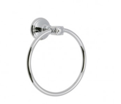 Huntington Brass MOBA01TR Monarch Towel Ring in Polished Chrome - $46.48