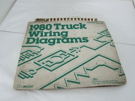 1980 Ford Truck Wiring Diagrams OEM - $39.55