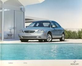 2004 Mercury SABLE sales brochure catalog 1st Edition US 04 GS LS - $8.00
