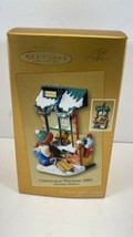 NIB Hallmark Keepsake Ornament Exclusive Christmas Window 2005  #3 In Se... - $11.83