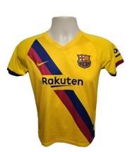 Nike Rakuten FCB Kids Size 26 Yellow Jersey - $43.99