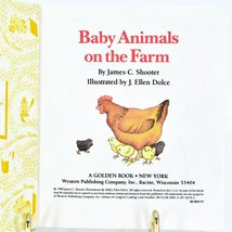 A First Little Golden Book Baby Animals on the Farm 1996 image 3