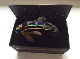 Alex and Ani Reindeer Set of 3 Bangle Bracelet Rafaelian Gold NWTBC - $72.26
