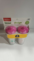 Playtex Sipsters Stage 3 Spill Proof Spout Cups Limited Edition Designs ... - $13.99