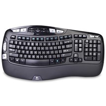 Logitech K350 2.4GHz 102-Key Wireless Multimedia Wave Keyboardw/USB Unif... - $921,77 MXN