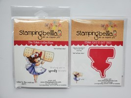 Edna to the Rescue. Stamp & Die Set. Nurse. CLEARANCE image 1