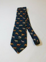 Mark, Fore & Strike African Wildlife Alynn Neckwear Mens Silk Tie Neck T... - $29.73