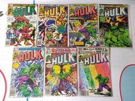Incredible Hulk 258-262 & 266-267 Marvel FN VF - $65.00