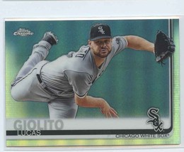 Lucas Giolito Refractor 2019 Topps Chrome #70 Chicago White Sox Baseball Card - $1.79