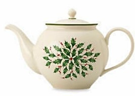 Lenox Holiday 40-Ounce Teapot NEW IN BOX - $59.39