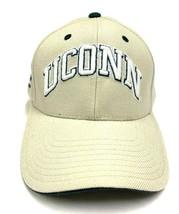 NCAA UConn Beige UC Huskies Adjustable Embroidered Strap Back Hat - $16.99
