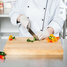 """18"""" x 12"""" x 1 3/4"""" Wood Commercial Restaurant Solid Cutting Board Butche... - $51.50"""