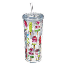 Cypress Home Popsicles Textured Acrylic Tumbler, 16 ounces - $10.35