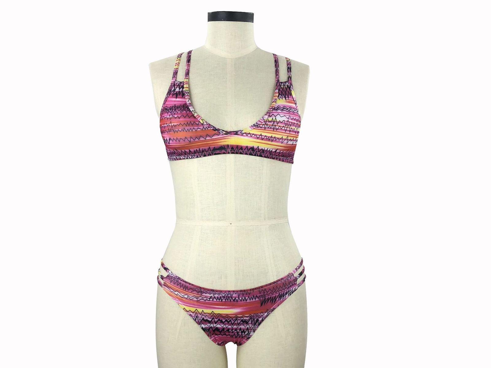 Women's Sexy Two Pieces Sporty Bikini Set