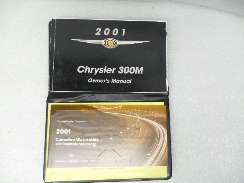 Chrysler 300M 2001 Owners Manual Set 16694