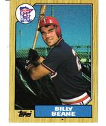 1987 Topps Billy Beane - $4.50