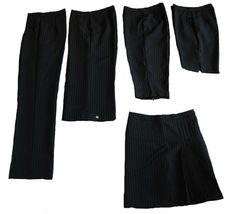 Women's Dark Navy Skort with White Pinstripes - New - Goldenwear image 11