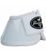 Medium Professional Choice Flexible Comfort Horse Spartan Bell Boots Whi... - $35.63