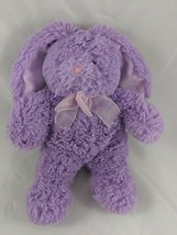"Animal Adventure Purple Rabbit Plush Bunny 10"" 2014 Stuffed Animal - $10.03"