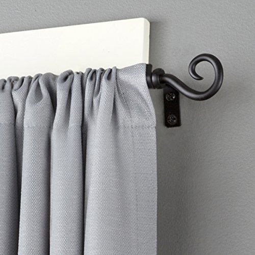 Kenney Medieval Hook Window Curtain Rod 48 To 86 Inch