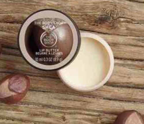 The Body Shop Shea Lip Butter 0.3oz Full Size~FRESH & Factory SEALED~NEW