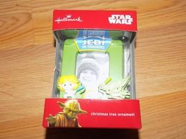Hallmark Disney Star Wars Jedi in Training Picture Frame 2016 Christmas ... - $15.00