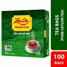 Pure Ceylon BOPF Black Tea - Zesta 100 Tea Bags 200g - $19.00