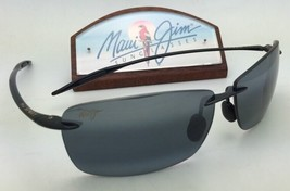 Polarized MAUI JIM Sunglasses LIGHTHOUSE MJ 423-02 Black Frames with Gre... - $169.95