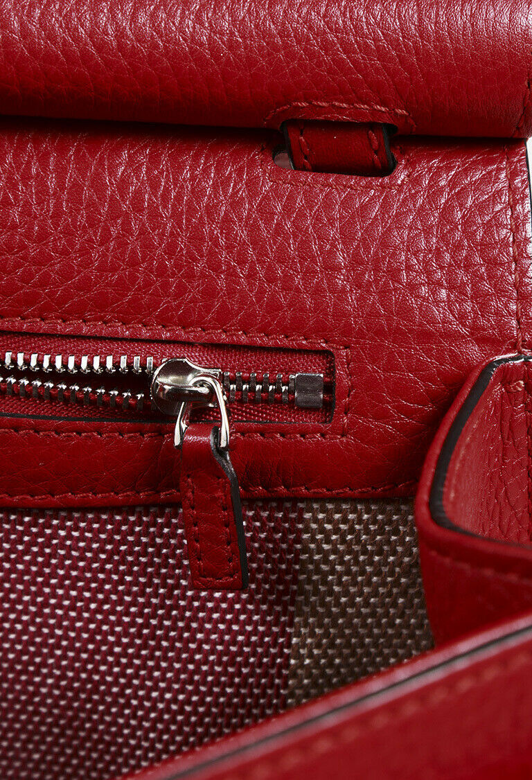 "Gucci Leather Medium ""Daily"" Bamboo Tassel Shoulder Bag"