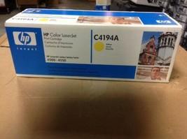 Genuine HP Color LaserJet 4500-4550 Series C4194-Yellow - $46.75