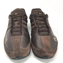 10 AIR TOUKOL NIKE 2008 Shoes Walking Suede Leather Sz Vtg Training Hiking Brown qgSfT4nx