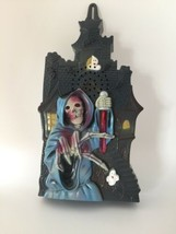 GRIM REAPER - Halloween-Scary Sounds-Lights Press the Button If You Dare - $18.52