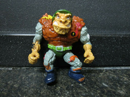 Vintage TMNT Playmates Toys General Traag 4.5 Inch Loose Figure 1989 Ver... - $9.03