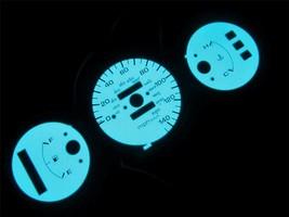 92-95 Honda Civic DX Automatic 140 MPH Cluster White Face Glow Gauges Bl... - $14.84