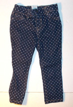 WonderKids Toddler Girls Blue Jeans with White Dots Size 2T VGUC - $8.19