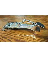 """Solid Metal Wrench Bottle Opener 4"""" with chain - $12.99"""