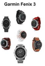 Garmin Fenix 3 Running Fitness GPS Watch:Grey, Silver, Sapphire, Titanium, Gold - $426.00+