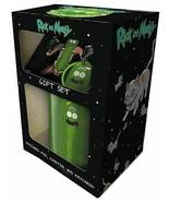 Rick and Morty Pickle Rick Mug, Coaster and Keychain Gift Set - $12.05