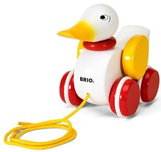 BRIO Pull Along Duck Baby Toy - $25.99