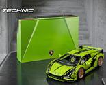 LEGO Technic Lamborghini Sián FKP 37 (42115), Model Car Building Kit for Adults, - £234.17 GBP