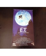 E.T. The Extra-Terrestrial VHS Tape 1982 MCA Home Video Inc First Print - $7.25